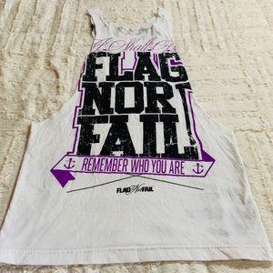 Flag Nor Fail muscle tee